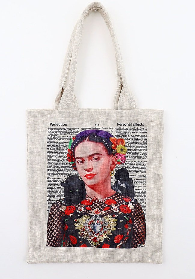 トートバック(Frida Kahlo Nature)