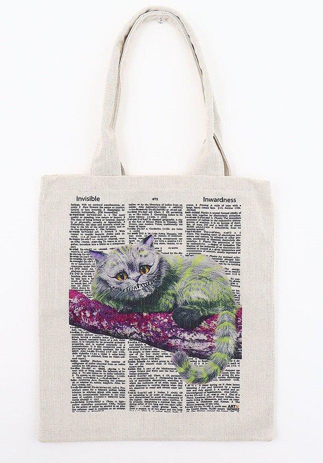 トートバックL(Cheshire Cat)