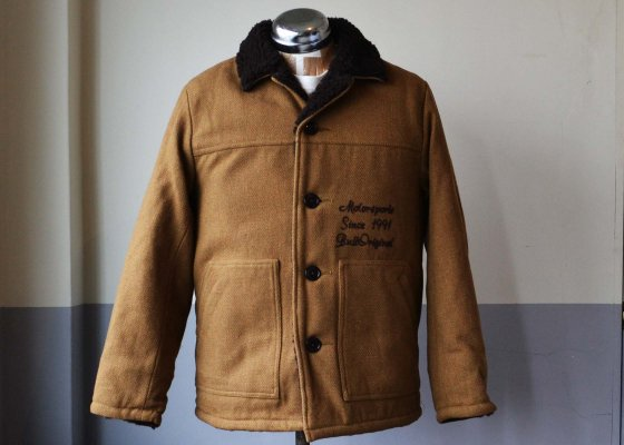 B.S.M.G. Wool Ranch Jacket - beige