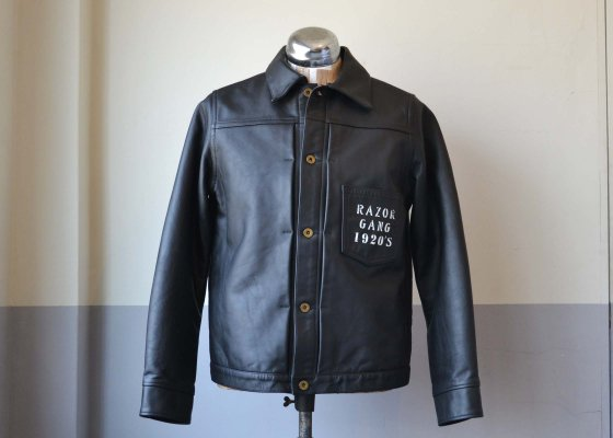 GANGSTERVILLE(ギャングスタービル) STAY SHARP - G JACKET COWHIDE