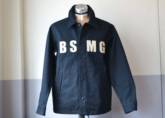 B.S.M.G. ( BAY SIDE MOTOR GEAR ) WORK JACKET -BLACK-