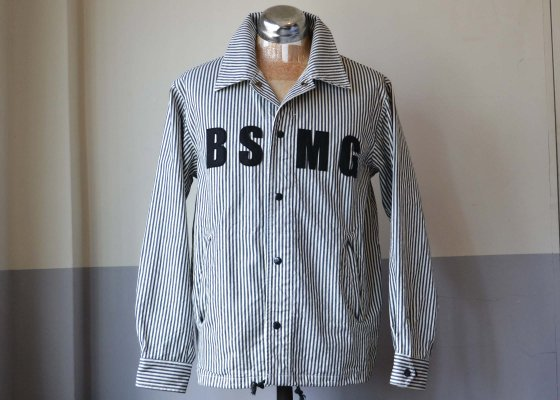 B.S.M.G. ( BAY SIDE MOTOR GEAR ) WORK JACKET -HICKORY-