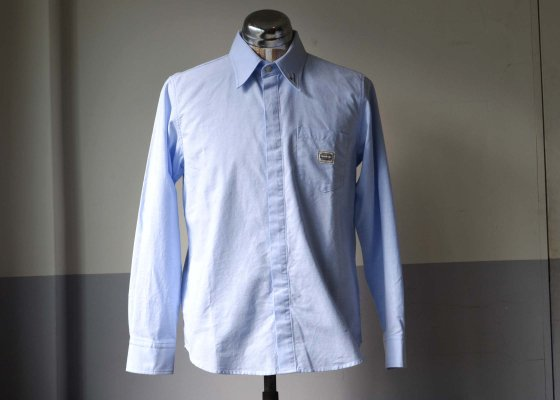 GANGSTERVILLE(ギャングスタービル) CLASSIC PARLOR SHIRTS - L/S BLUE