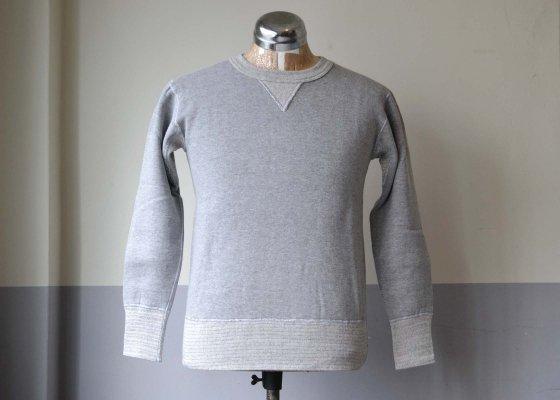 TWO MOON ( トゥームーン ) スウェットシャツ - 92022 杢グレー