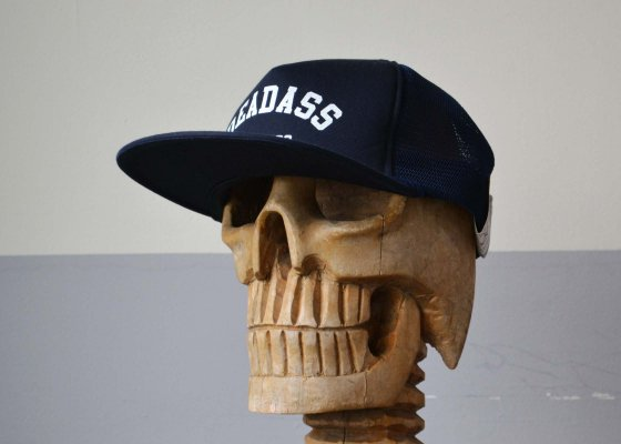 THE H.W DOG & CO. MESH CAP NAVY