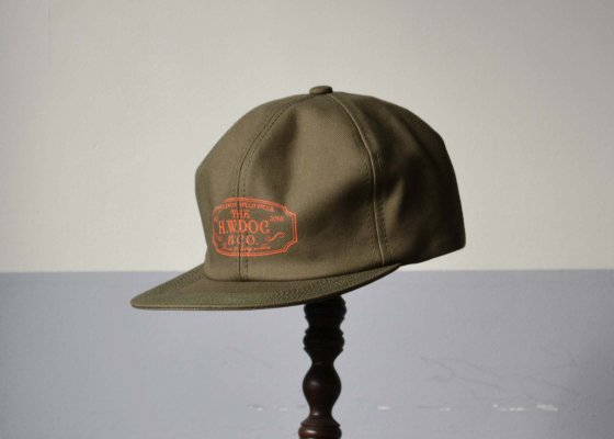THE H.W DOG & CO. TRUCKER CAP OLIVE
