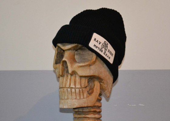 B.S.M.G - KNIT CAP - BLACK