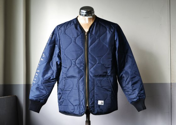 GANGSTERVILLE(ギャングスタービル) RAZORGANG -QUILTED JACKET- NAVY