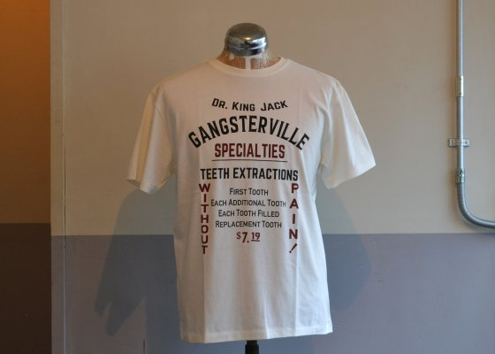 GANGSTERVILLE(ギャングスタービル) - Dr.KING JACK T-SHIRTS
