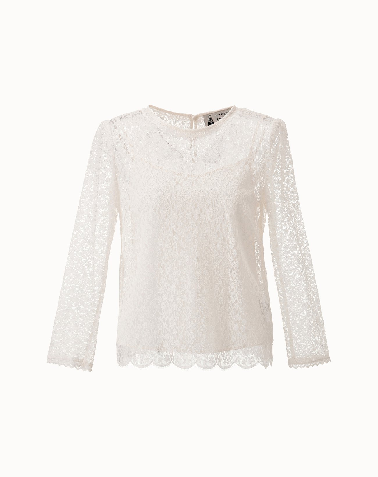 Lace Blouse - Off White