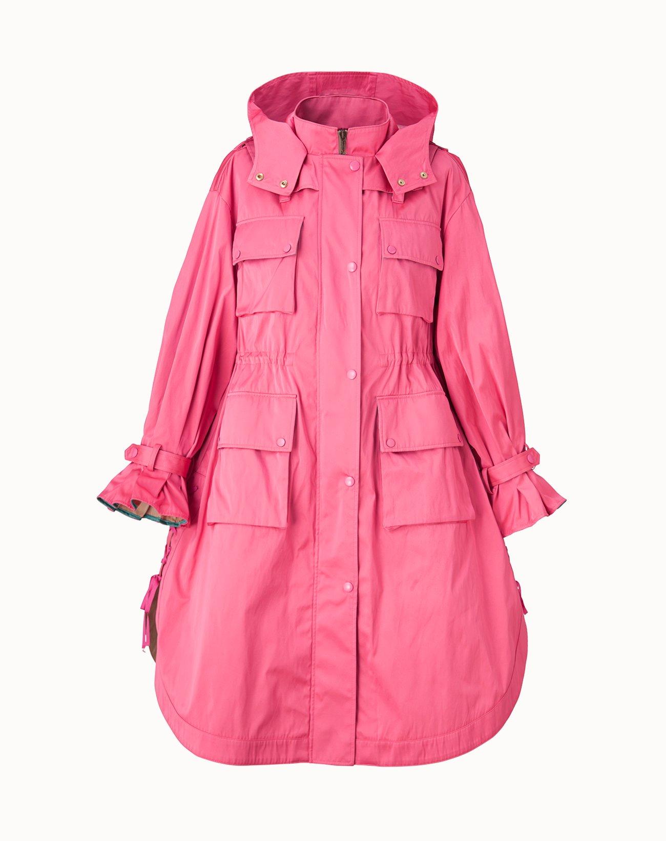 Taffeta Coat - Pink