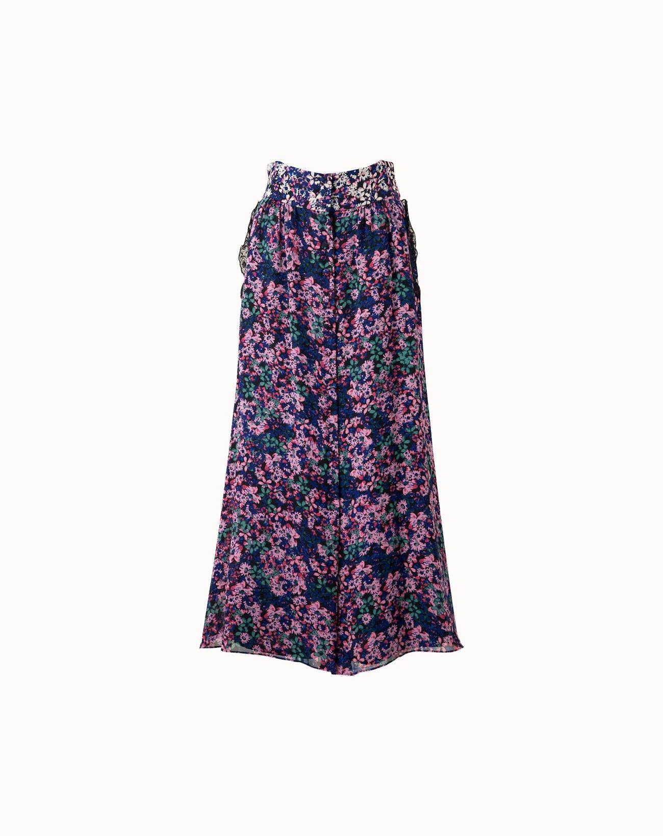 Palette Flower Skirt - Green