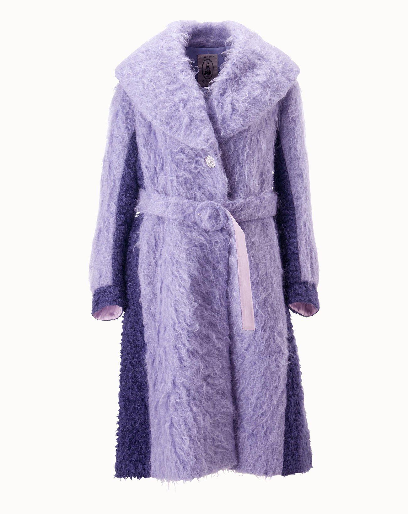 Shaggy Coat - Purple
