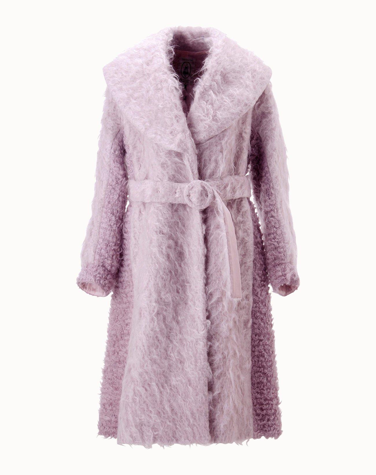Shaggy Coat - Pink