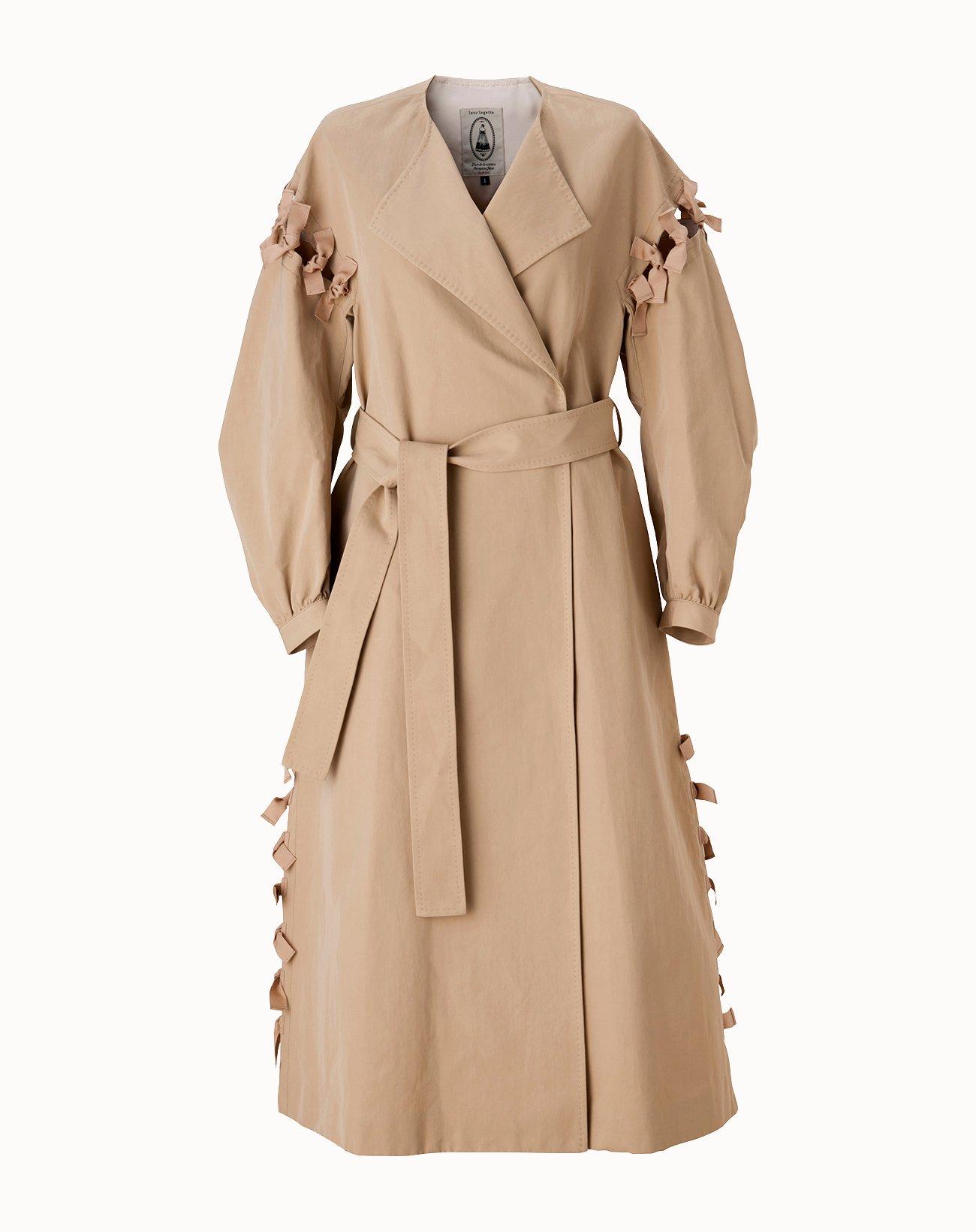 Vintage Twill Coat - Beige