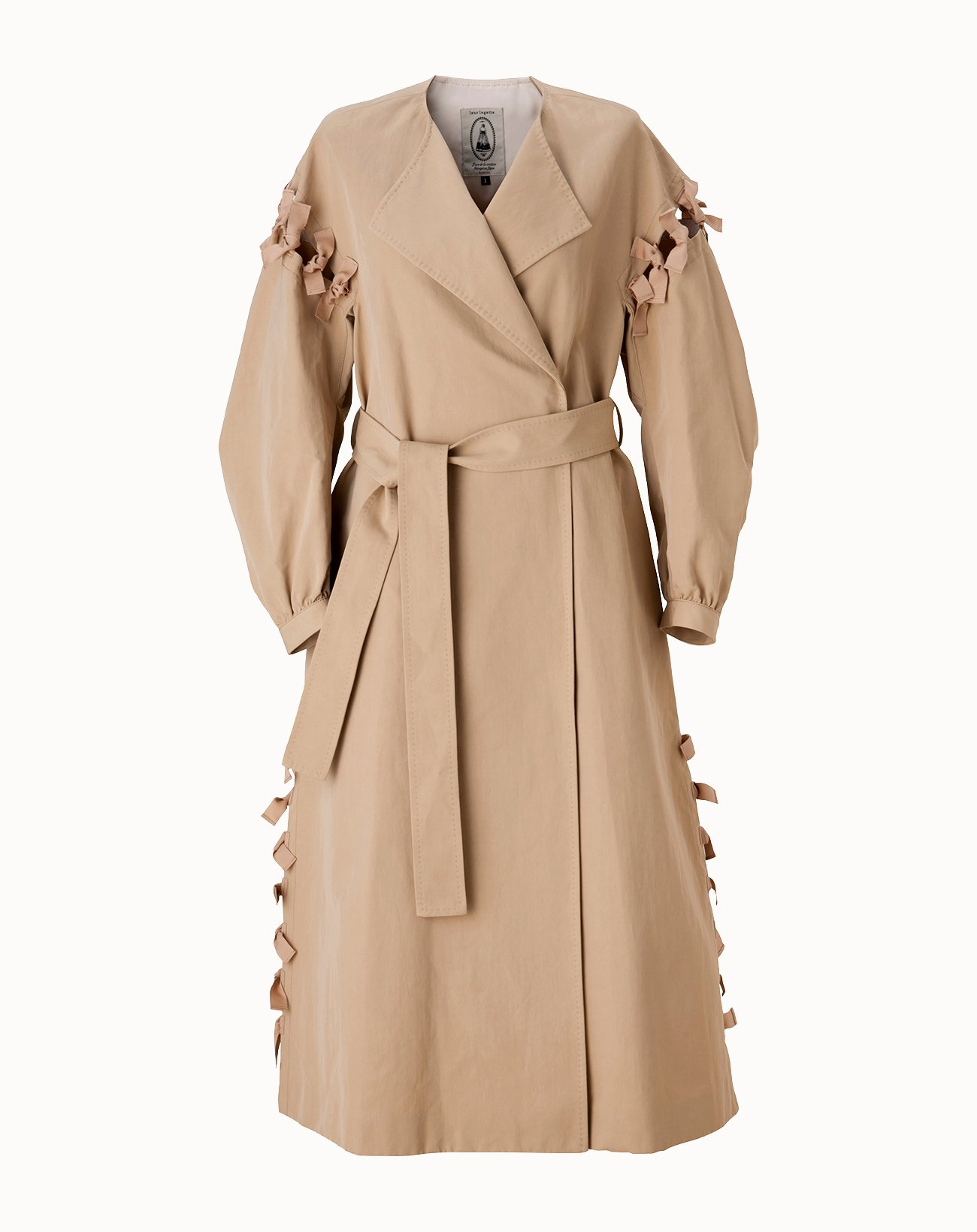 leur logette - Vintage Twill Coat - Beige