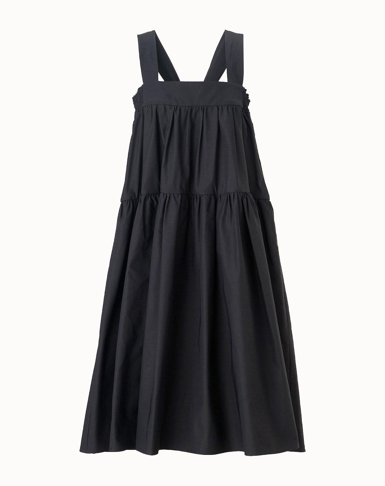 Vintage Twill Dress - Black