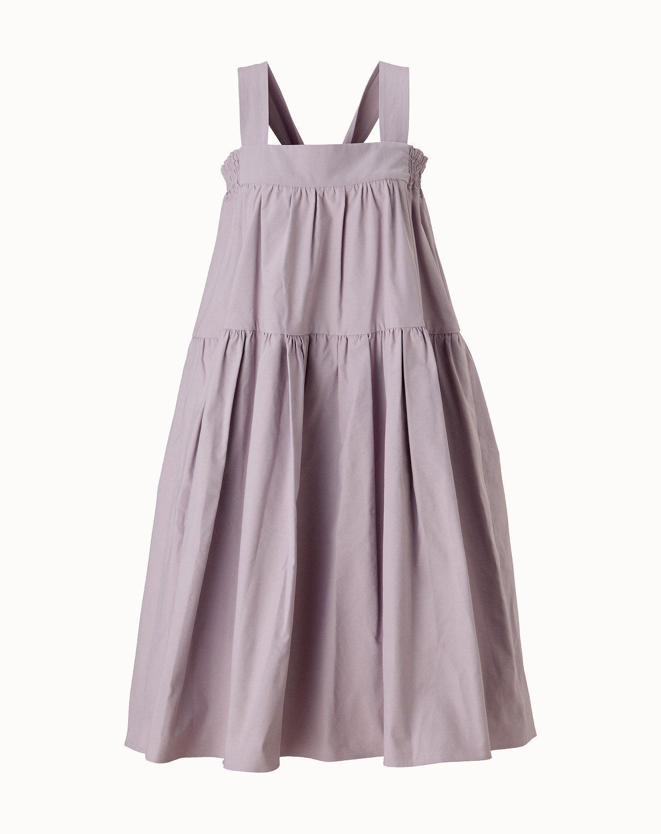 Vintage Twill Dress - Lavender
