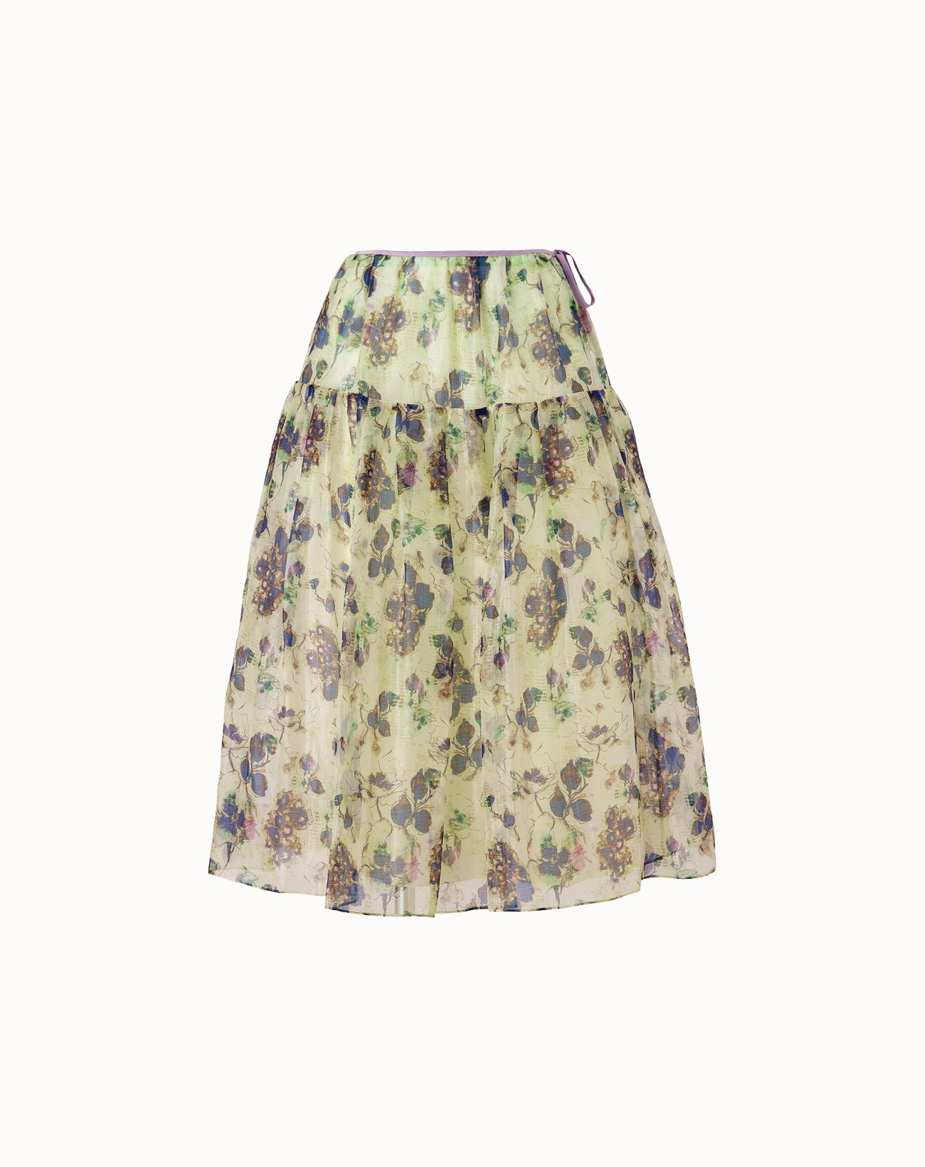 Antique Flower Skirt - Green