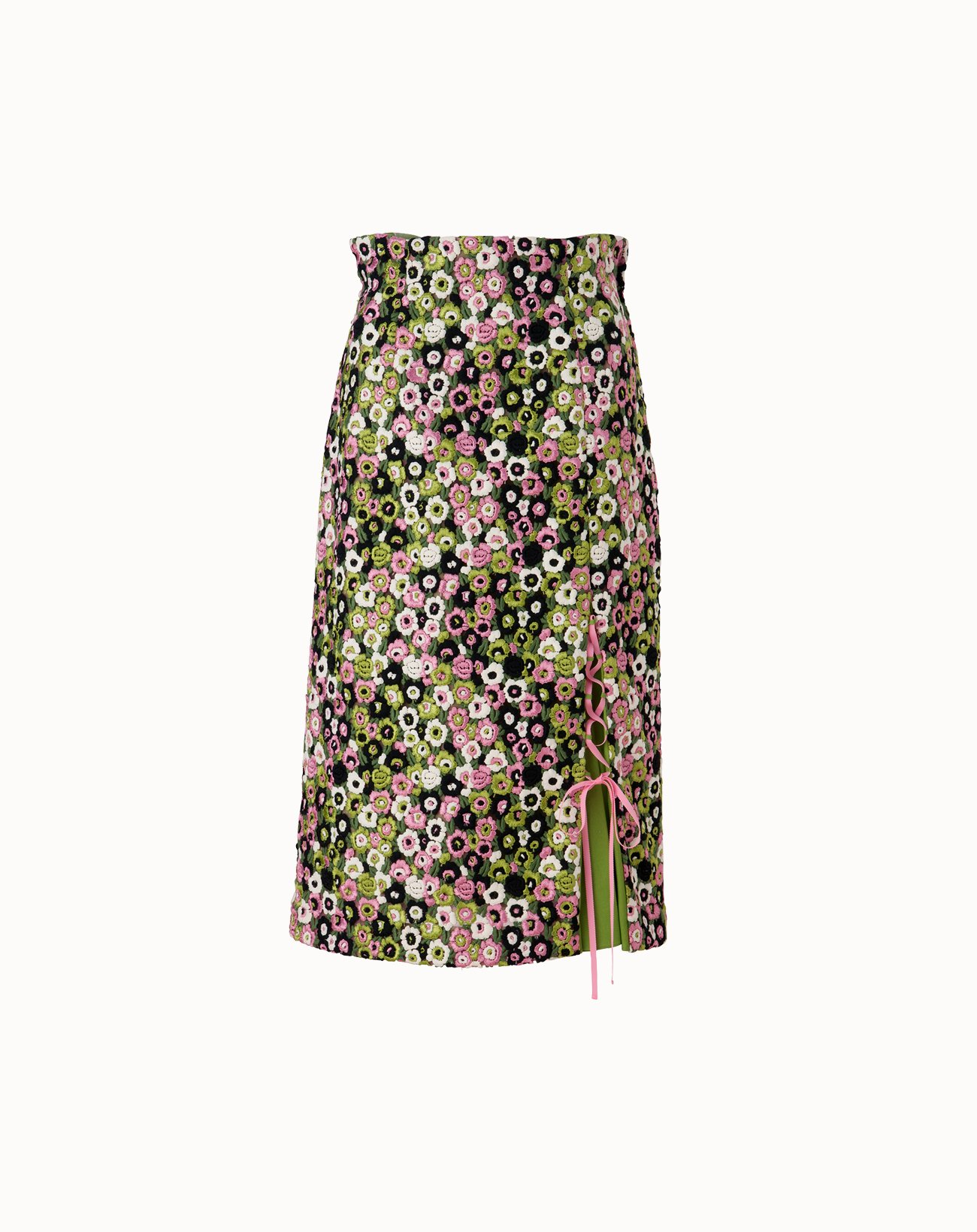 Grace Flower Skirt - Green