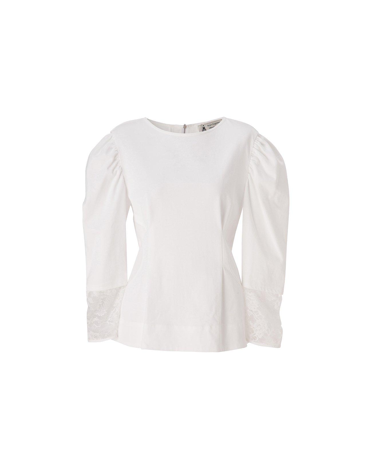 Heavy Cotton Top - White