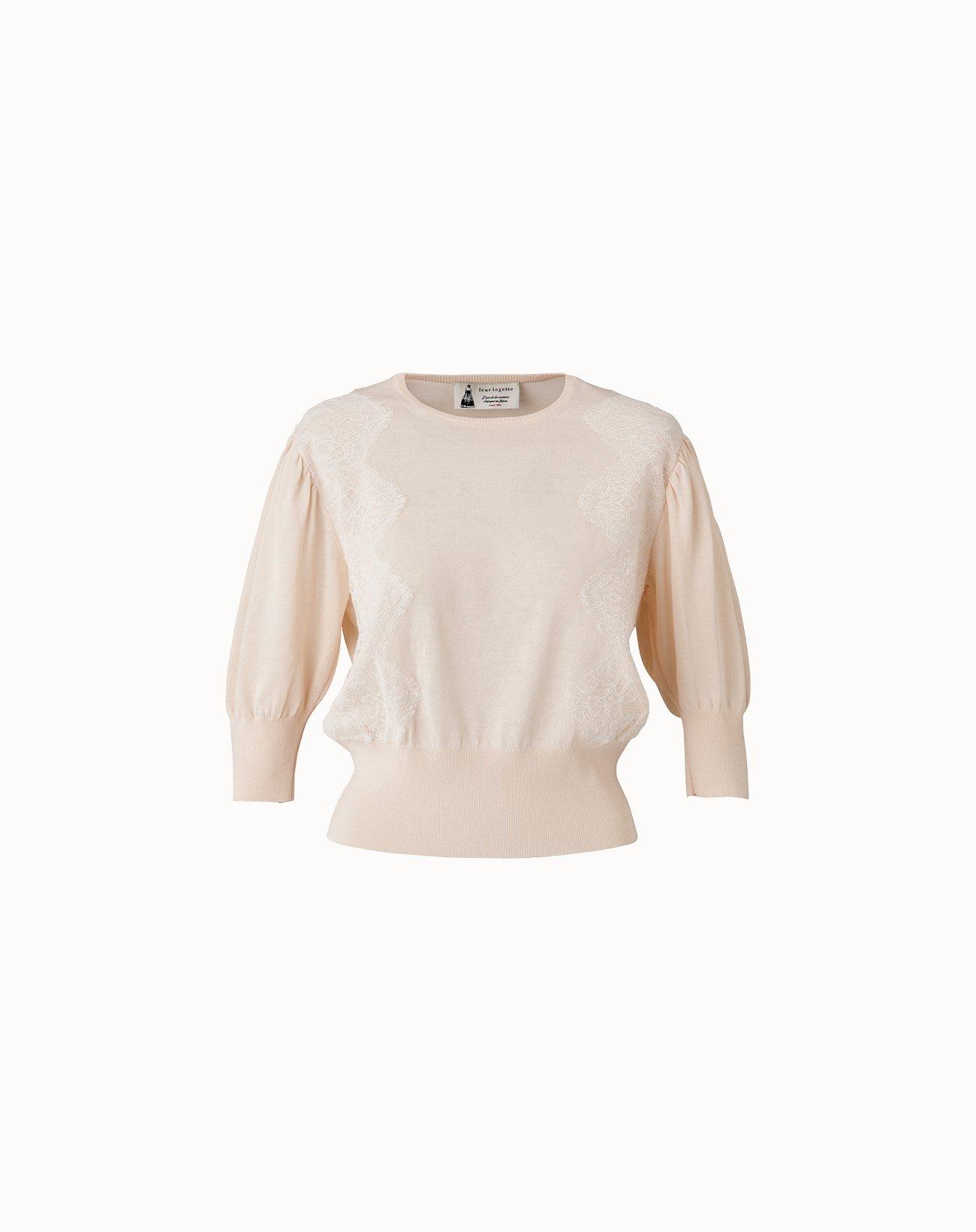 leur logette - Cotton Silk Top - Off White