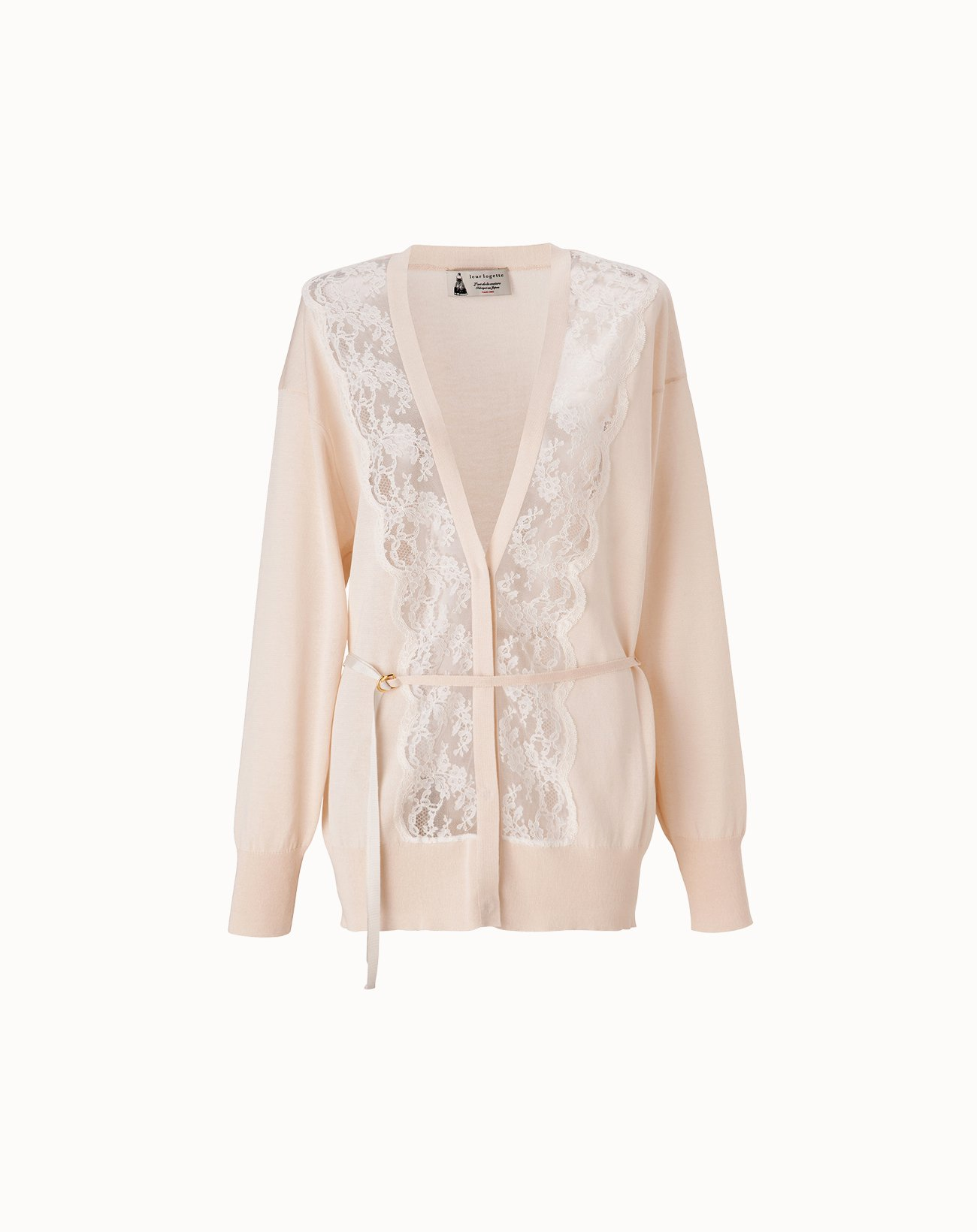 leur logette - Cotton Silk Cardigan - Off White