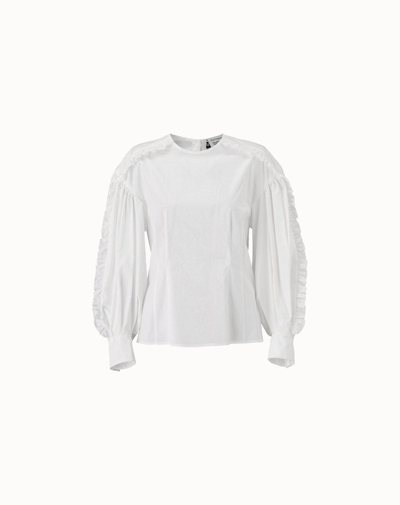 leur logette - Cotton Blouse - Off-White