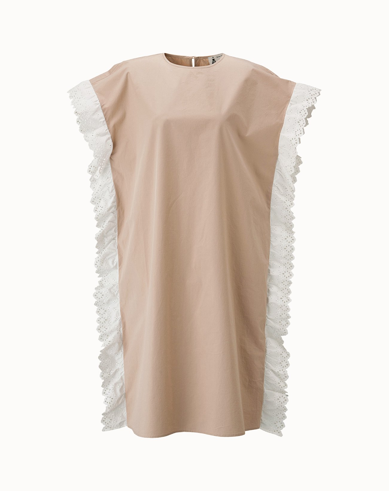 leur logette - Cotton Dress - Beige