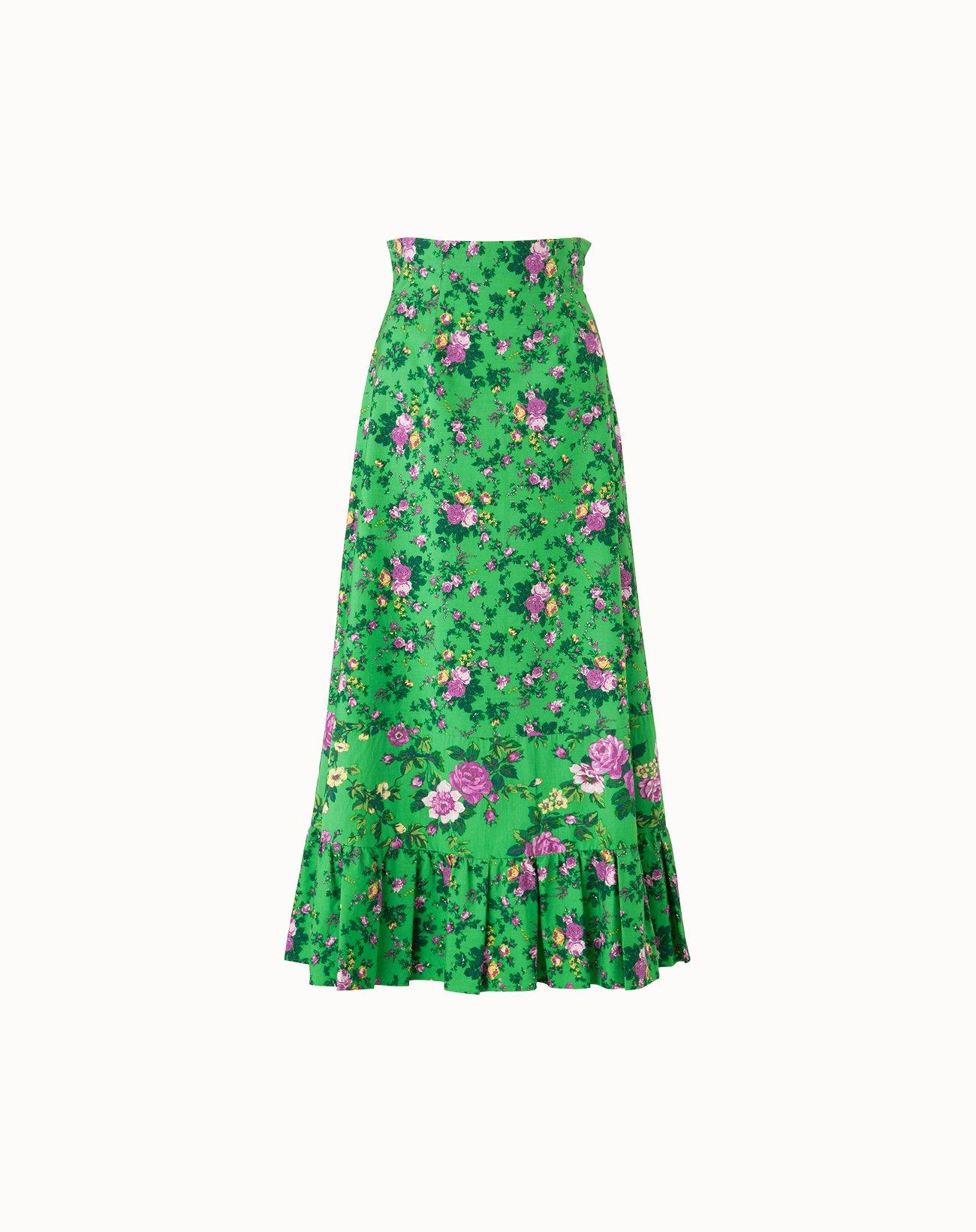 leur logette - Fairy Rose Skirt - Green