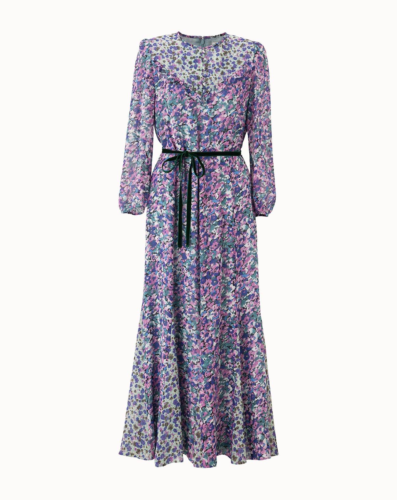 leur logette - ONLINE Limited  Edition Dress - Purple