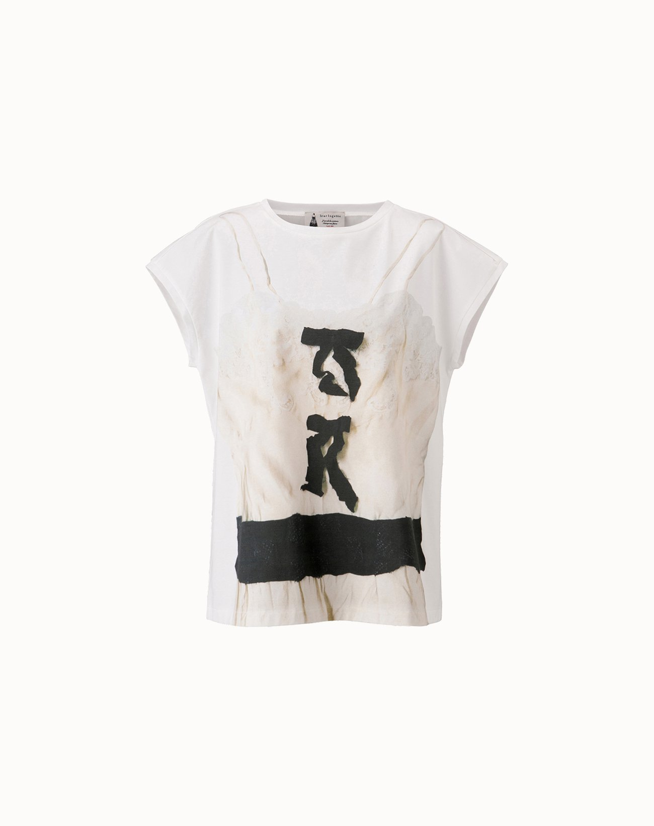 leur logette - Cotton Printed T-Shirt - Off-White
