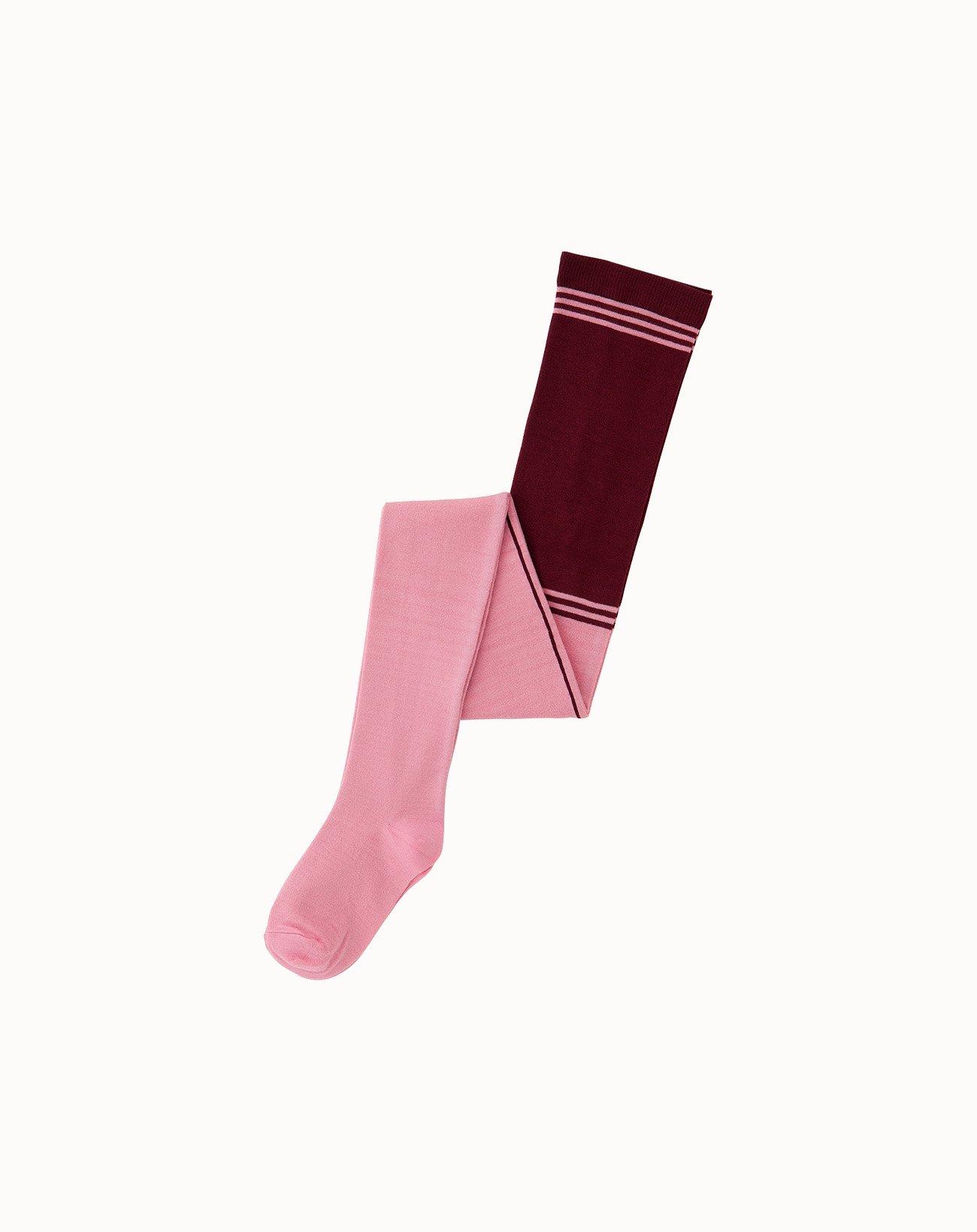 leur logette - Jersey Tights - Pink