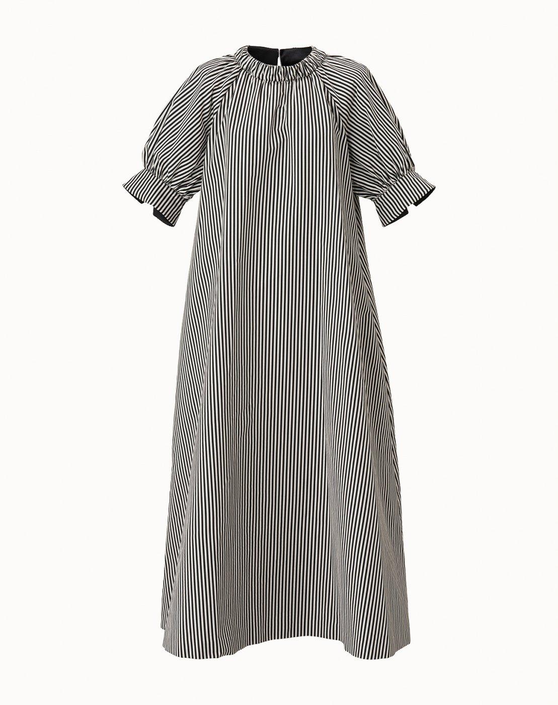 leur logette - Jacquard Dress  -Stripe