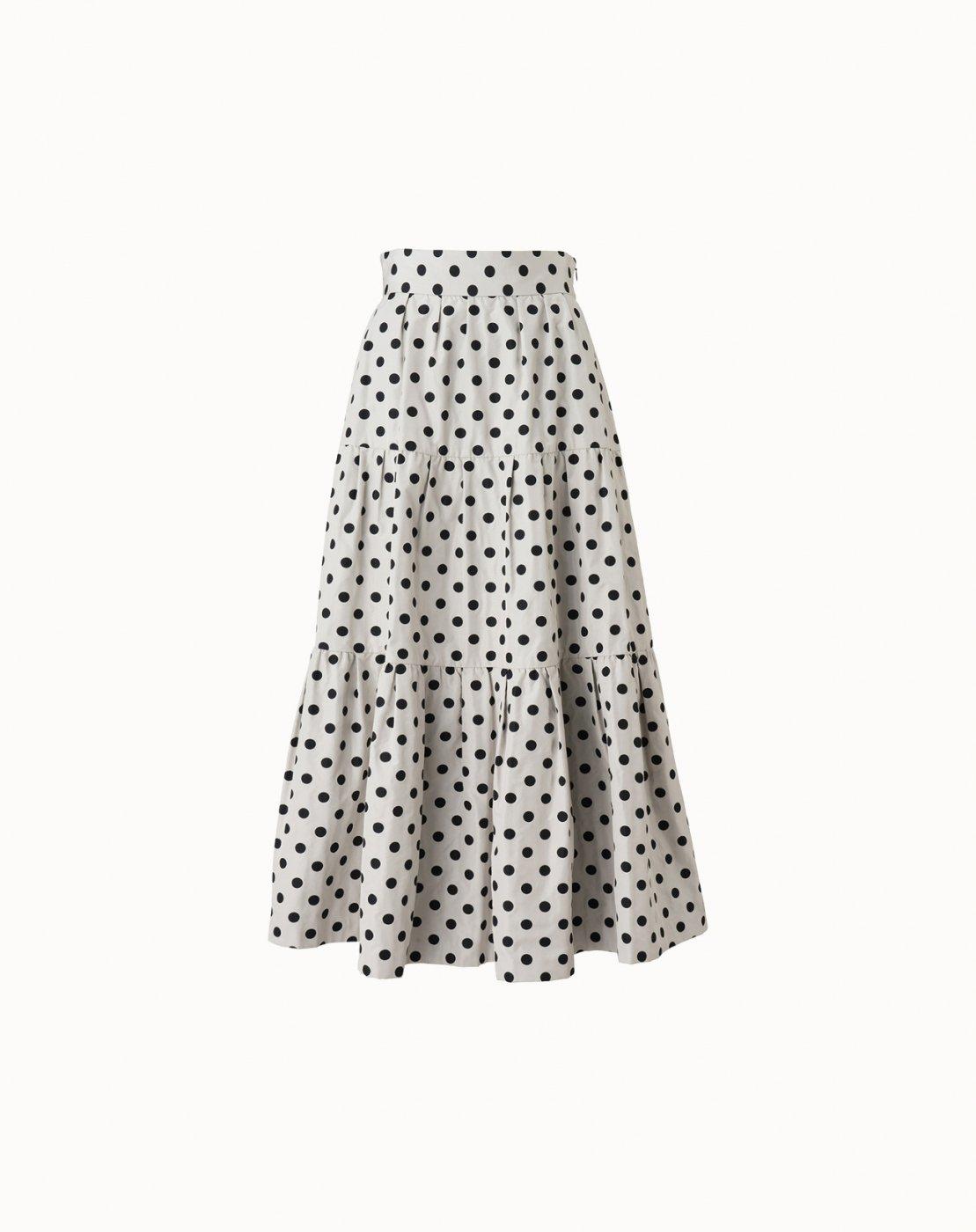 leur logette - Jacquard Skirt  - Dot