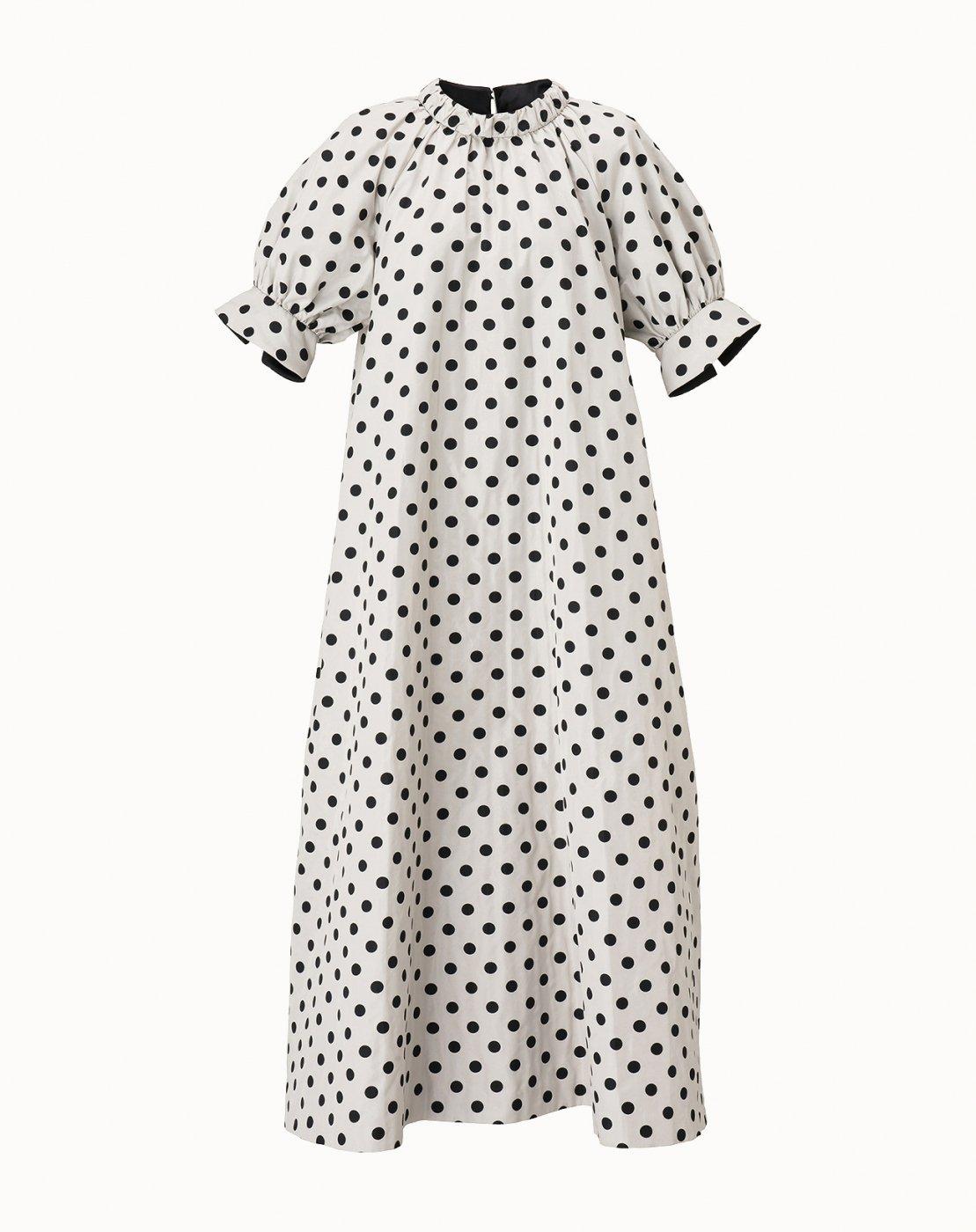 leur logette - Jacquard Dress  -Dot