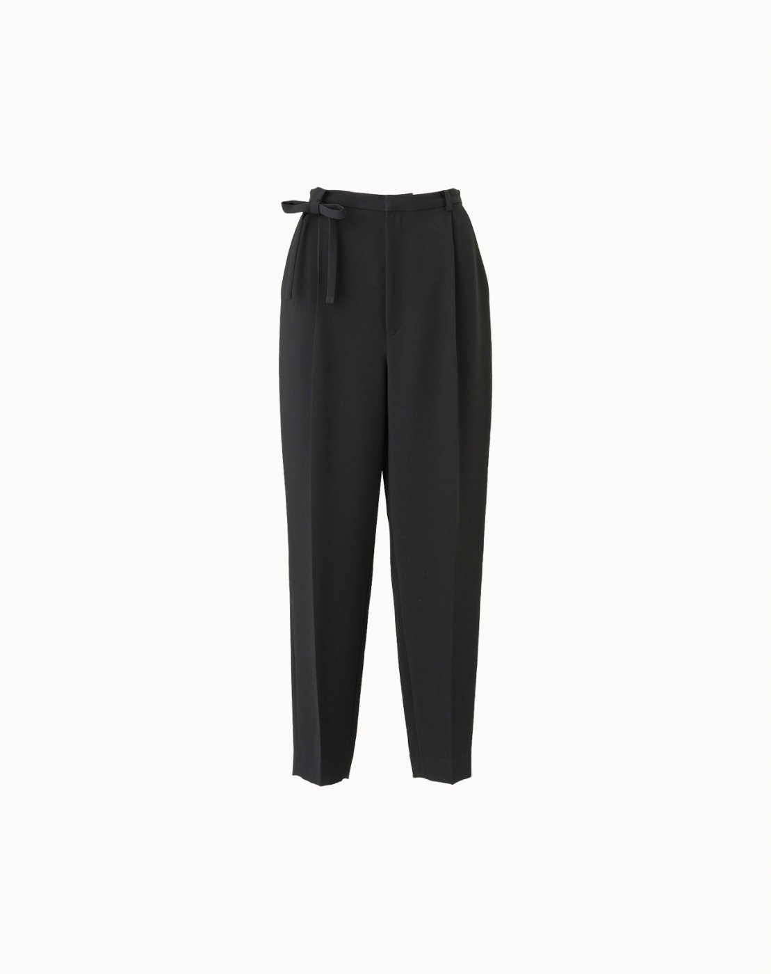 leur logette - Double Georgette Pants - Black