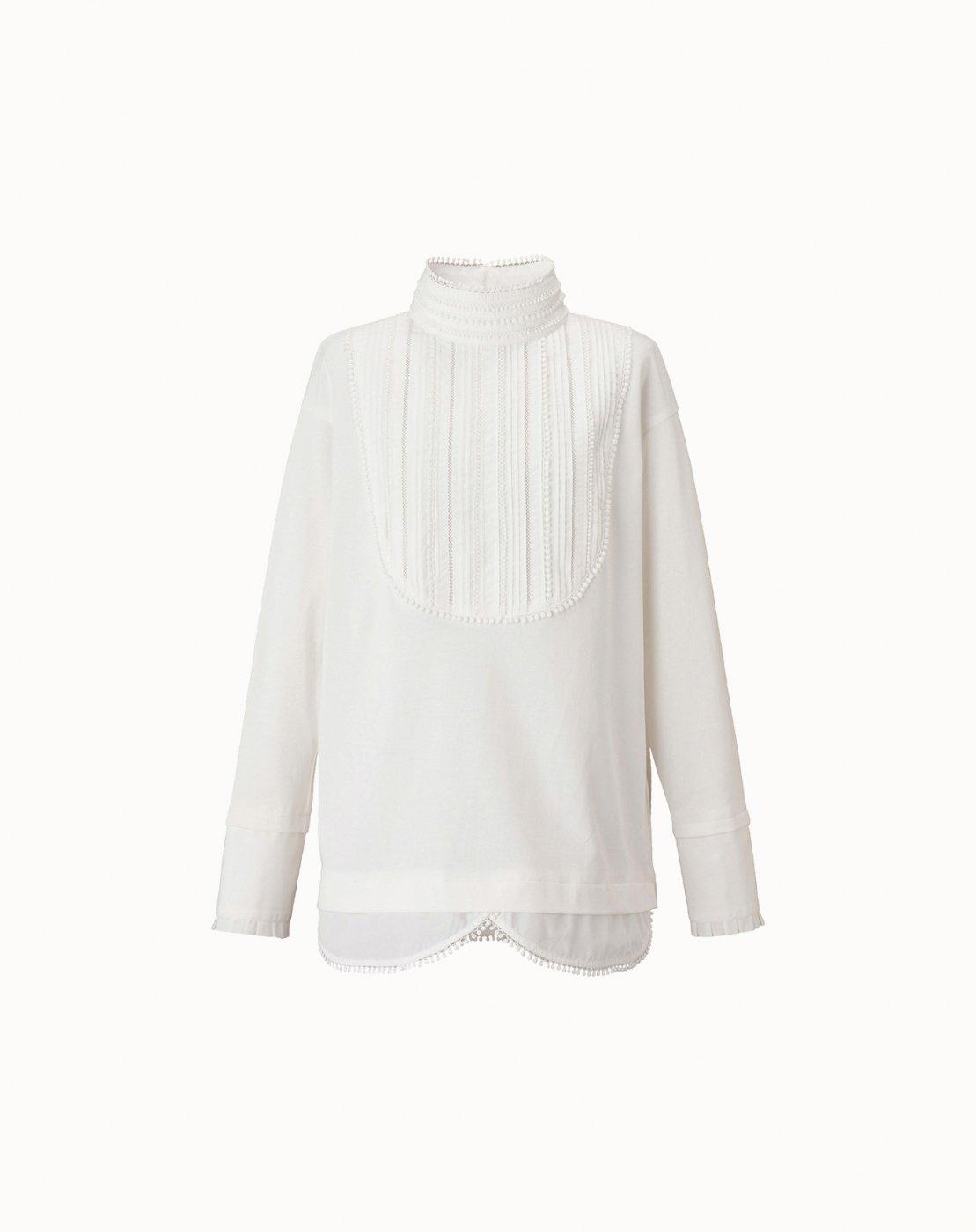 leur logette - Cotton Top - White