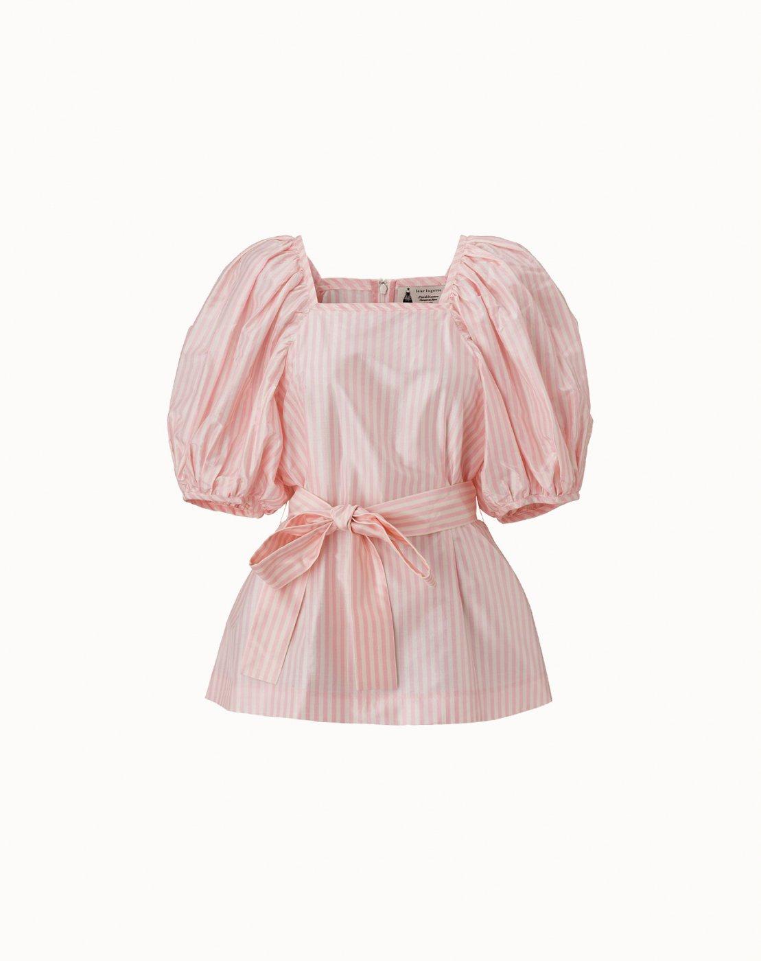 leur logette - Strope Taffeta Top - Pink