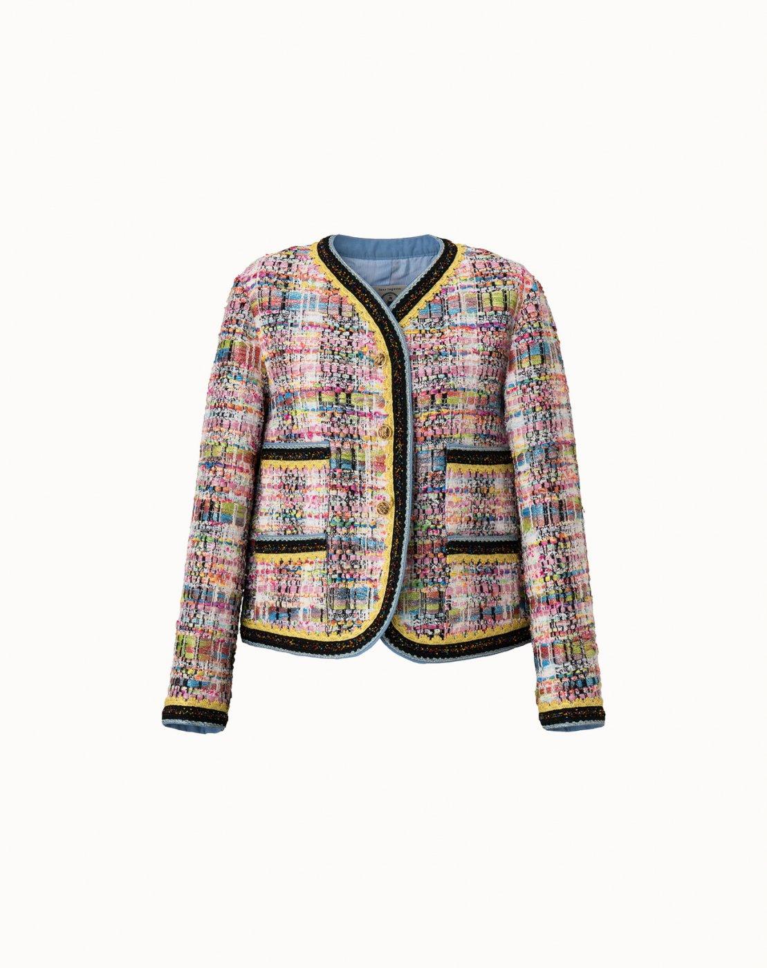 leur logette - Candy Tweed Jacket - Off-White