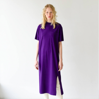 <img class='new_mark_img1' src='https://img.shop-pro.jp/img/new/icons8.gif' style='border:none;display:inline;margin:0px;padding:0px;width:auto;' />【unfil】cotton flannel jersey T-shirt dress
