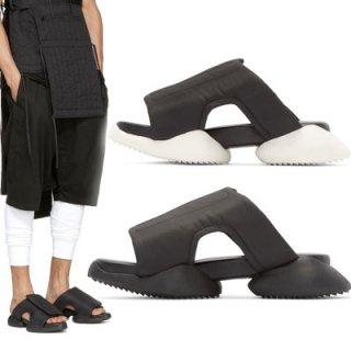 Casual men sandals beach slippers shoes レザーベルクロサンダル スリッパ
