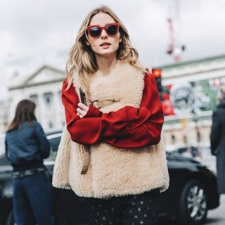 Women Real Sheep Skin Mouton Fur Vest Jacket  リアルシープスキンムートンファーベスト