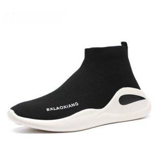 men's Elastic socks shoess sneakers High or low エラスティックソックスシューズ スニーカー ブーツ