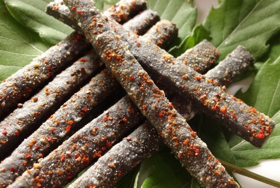 炭枝-炭スパイシー  塩味 おつまみ系 有機マーガリン使用