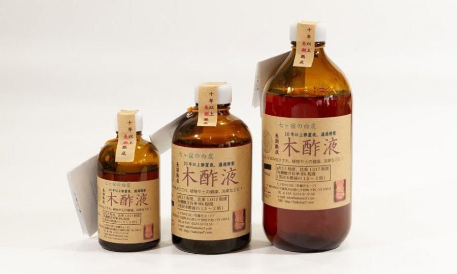 長期熟成木酢液-250ml瓶入 虫除け・野菜の病虫害防除など