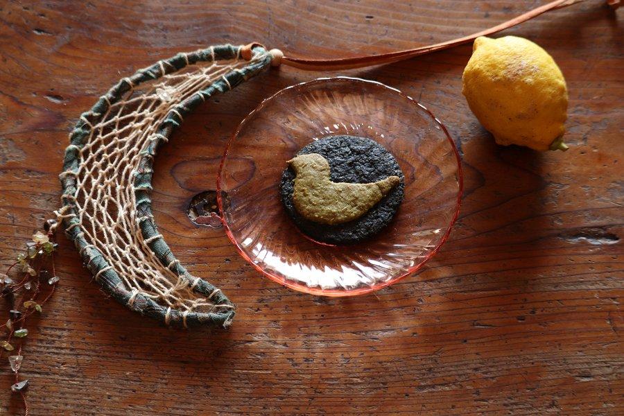幸せの青い鳥クッキー 無農薬レモン皮ごと使用  安心おやつ