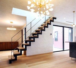 スチール階段 イナズマ型  2枚ささら