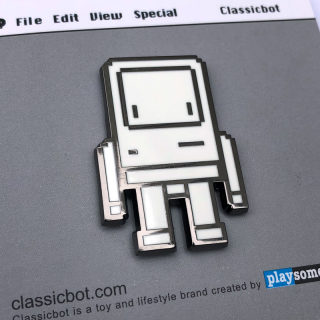 Pixel Classicbot [Pins] / Playsometoys