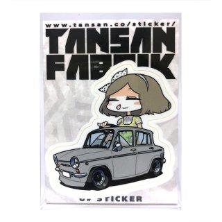 U井ステッカー [キャロルさん] / TANSANFABRIK